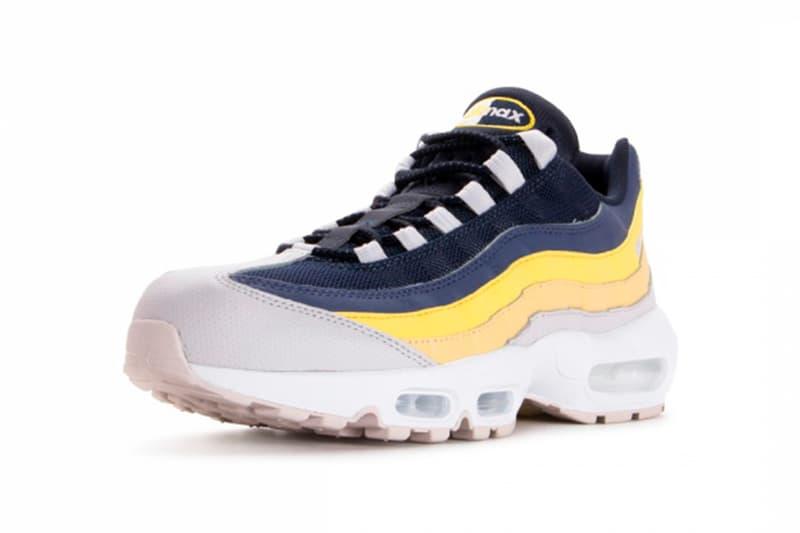 Nike Air Max 95 Lemon Wash Release Blue Yellow Grey White Gum