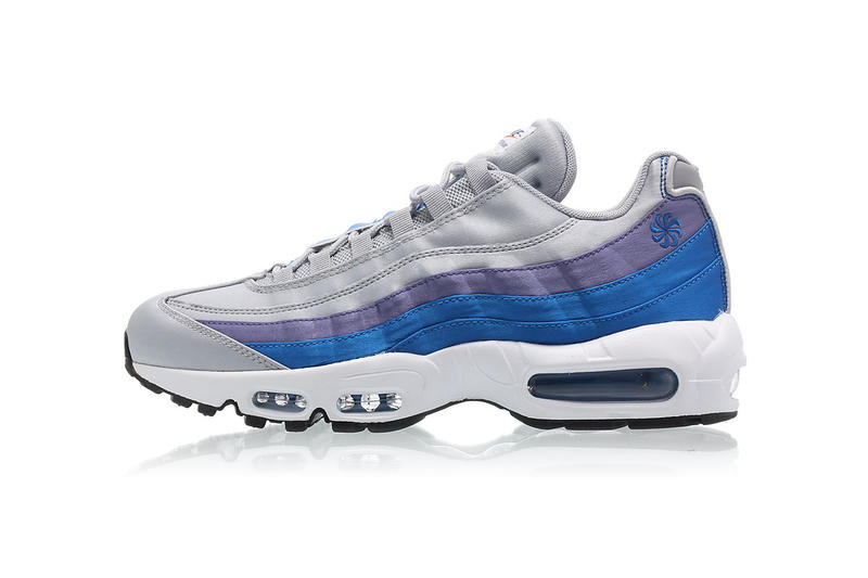 outlet store cebd2 f6651 Nike Air Max 95 SE Pinwheel wolf grey blue nebula purple slate white may  2018 release