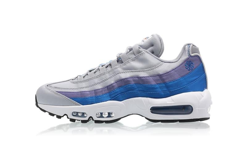 outlet store 9fb16 56ea6 Nike Air Max 95 SE Pinwheel wolf grey blue nebula purple slate white may  2018 release