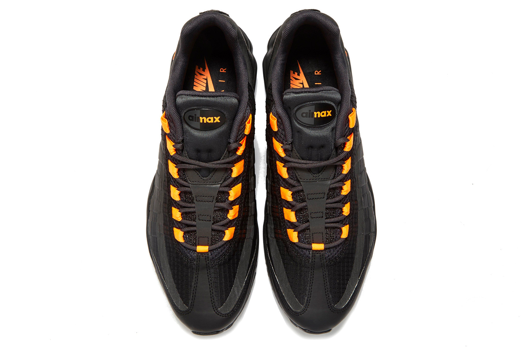 black and orange 95s