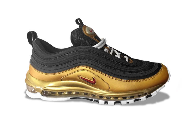 Nike Air Max 97 Metallic Gold Sneakers variant alternate