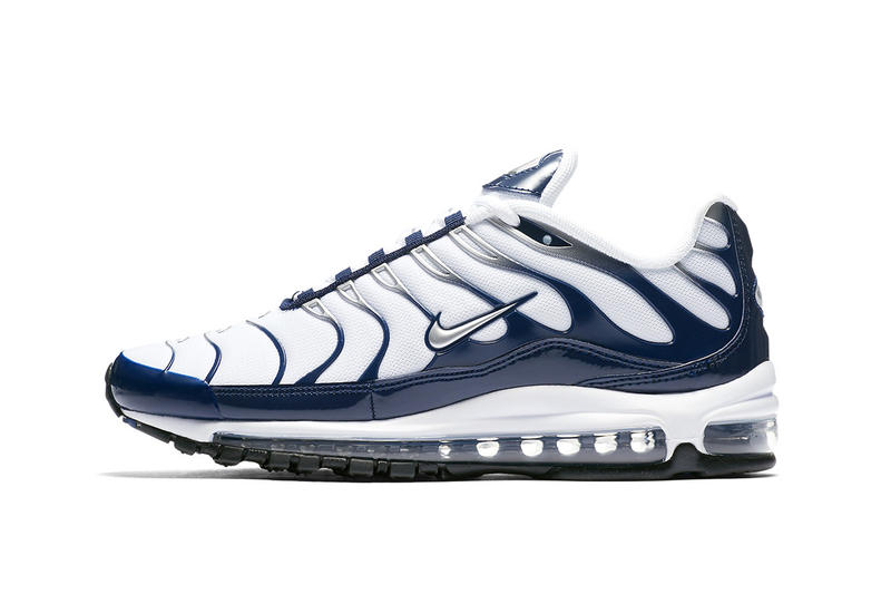 hot sale online 4d3e9 7a2a4 Nike Air Max 97Plus NavyMetallic Silver 2018 nike sportswear footwear air  max