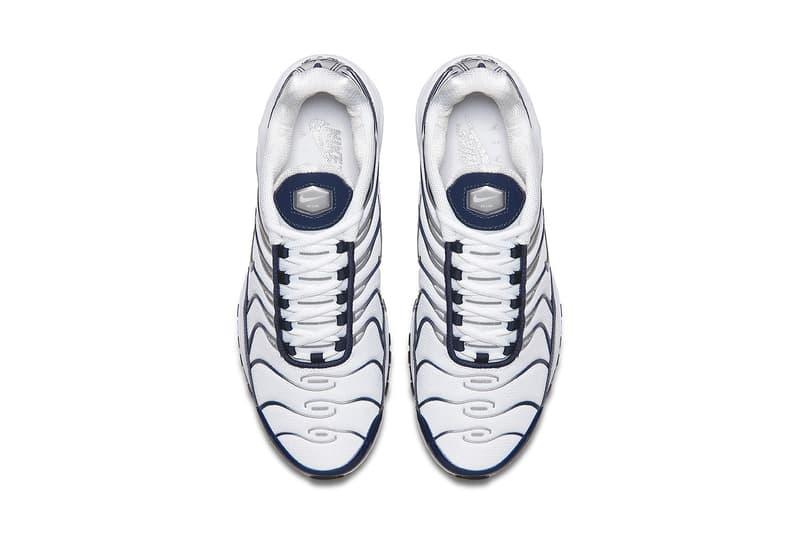 Nike Air Max 97/Plus Navy/Metallic Silver 2018 nike sportswear footwear air max plus air max 97