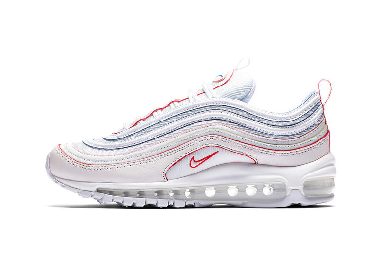 aded970491 Nike Air Max 97 white red orange green blue nike sportswear 2018 may  footwear release date