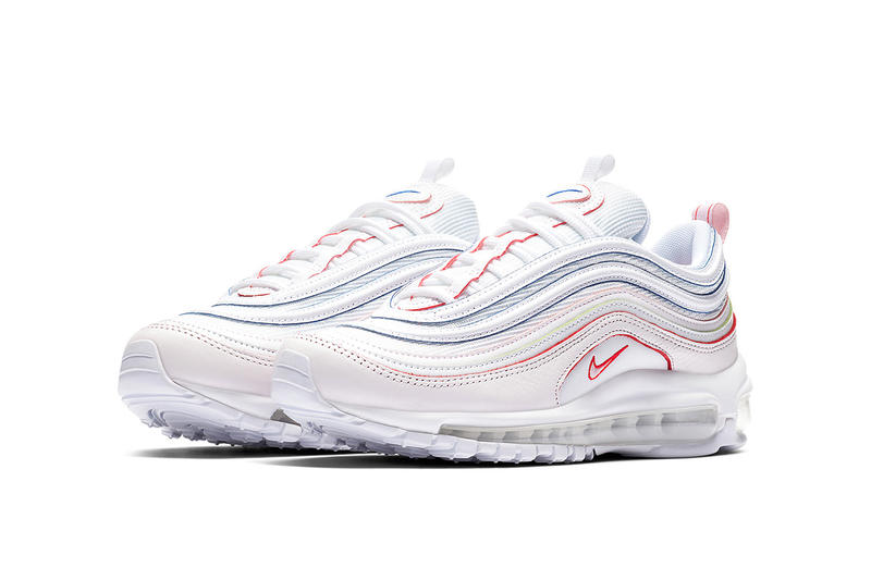 Nike Air Max 97 white red orange green blue nike sportswear 2018 may footwear release date info drop spring summer