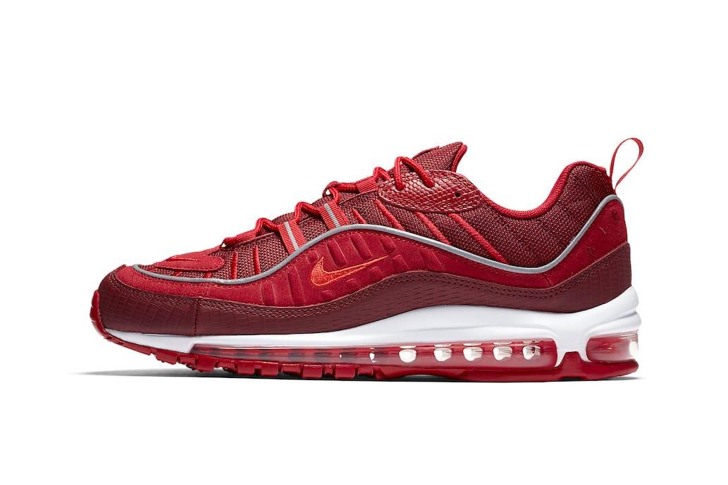 """Nike Air Max 98 """"Team Red"""" An Official"""