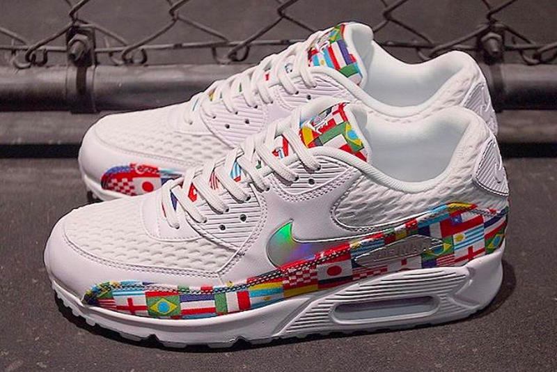bb470f0709 Nike Air Max Plus Air Max 90 Air Zoom Spiridon Flag Pack First Look  international flags