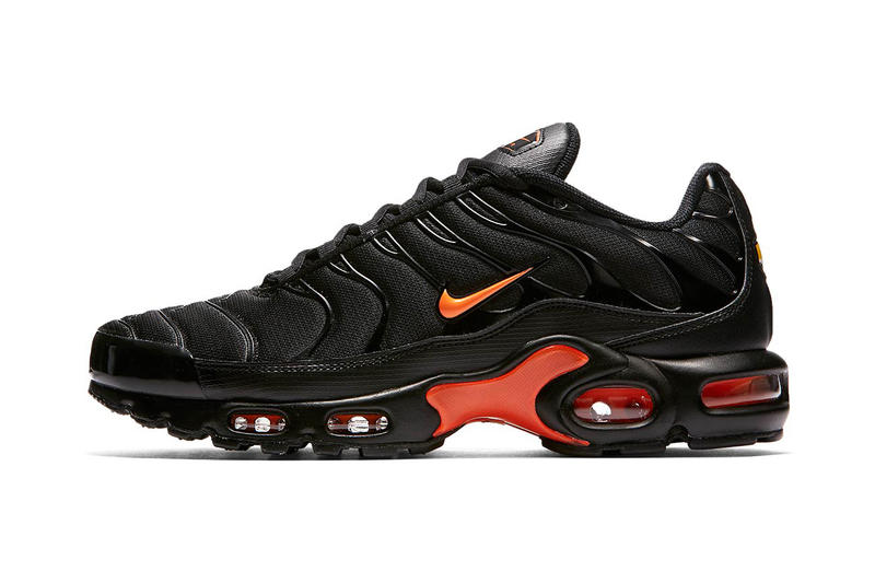 nike air max plus black orange release footwear sneakers shoes kicks