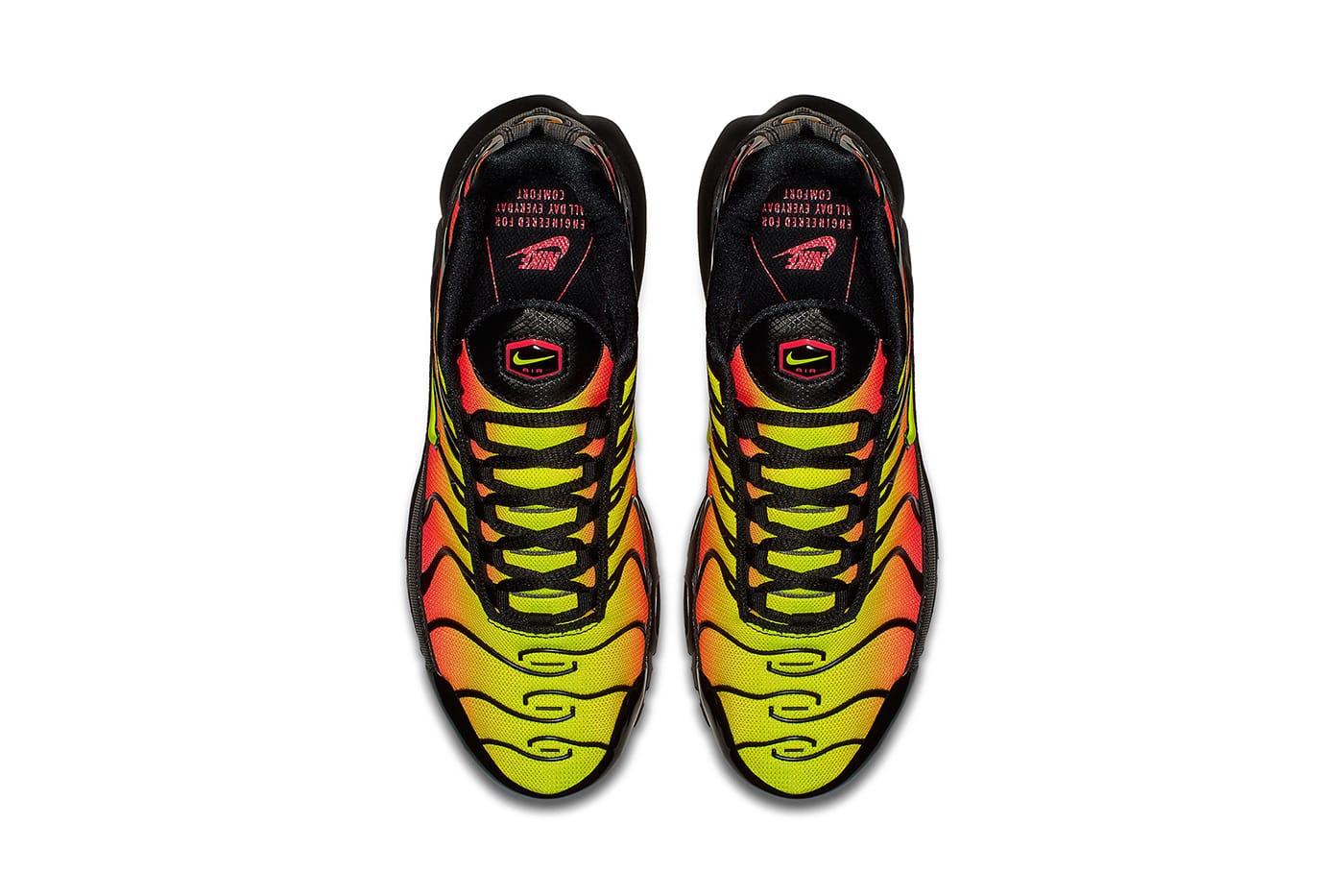 Nike Air Max Plus Black/Solar Red-Volt