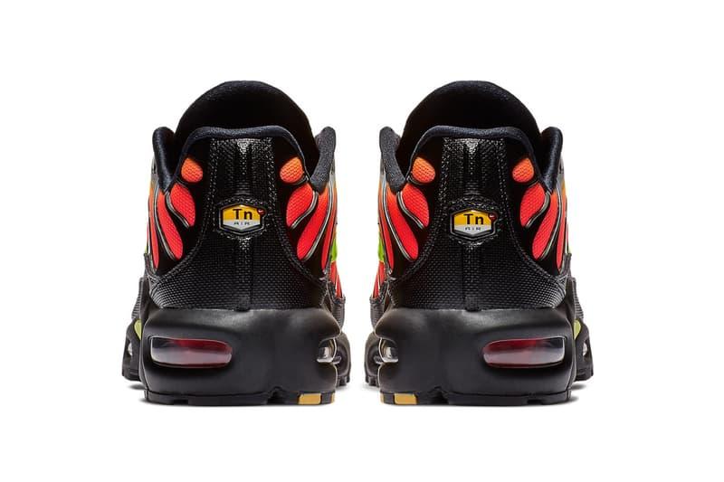 d4915c8dfa ... Nike Air Max Plus Black Solar Red Volt nike sportswear 2018 footwear  release date info drop ...