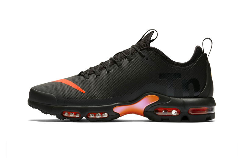 official photos 90ba9 02b4c Nike Air Max Plus Tn SE Black Orange release date price purchase first look  2018 sneaker