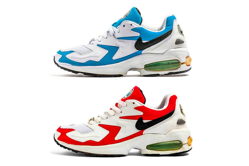 Nike Air Max2 Light 2019 Rerelease Return Glass Blue Atomic Red