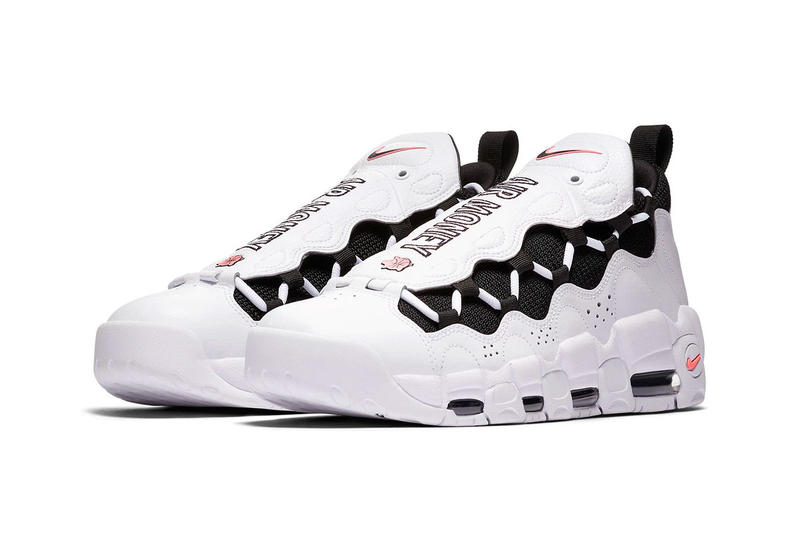 purchase cheap b2afe 7d1e6 Nike Air More Money Piggy Bank Release Date sneakers price purchase white  coral black