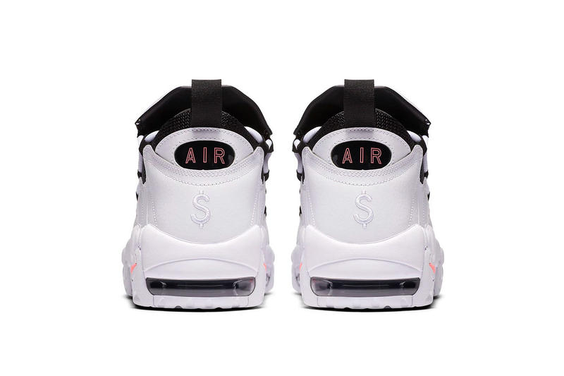 Nike Air More Money Piggy Bank Release Date sneakers price purchase white coral black