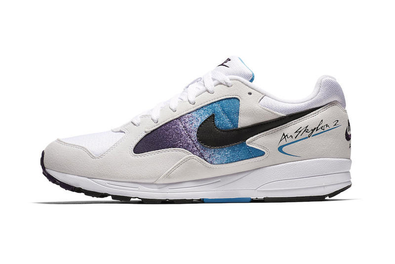huge selection of 8cb8a 0c591 Nike Air Skylon 2 Eggplant Purple Blue White Cream Black Release
