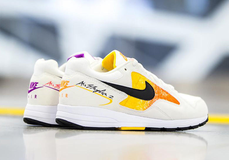 Nike Air Skylon II 2 retro release drop info date announce confirm june 2 2018 womens size runner AO4540-102 AO4540-101 White Black Amarillo Total Orange Court Purple Solar Red
