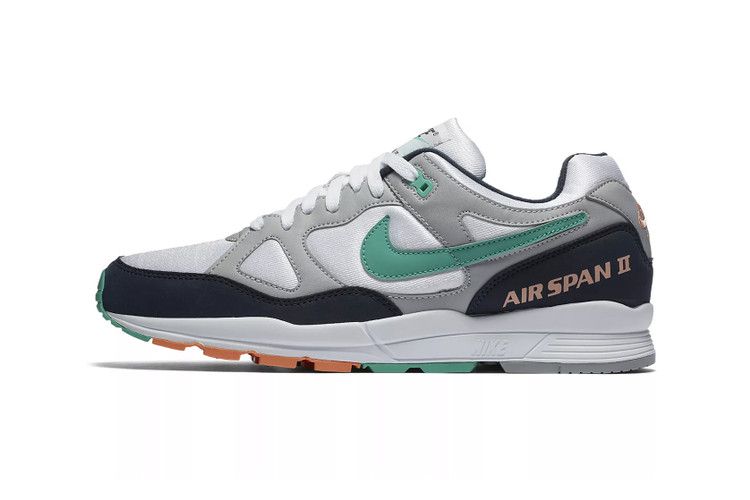 """newest 3df62 f8993 Nike Gives the Air Span II a """"Kinetic Green"""" Rework"""