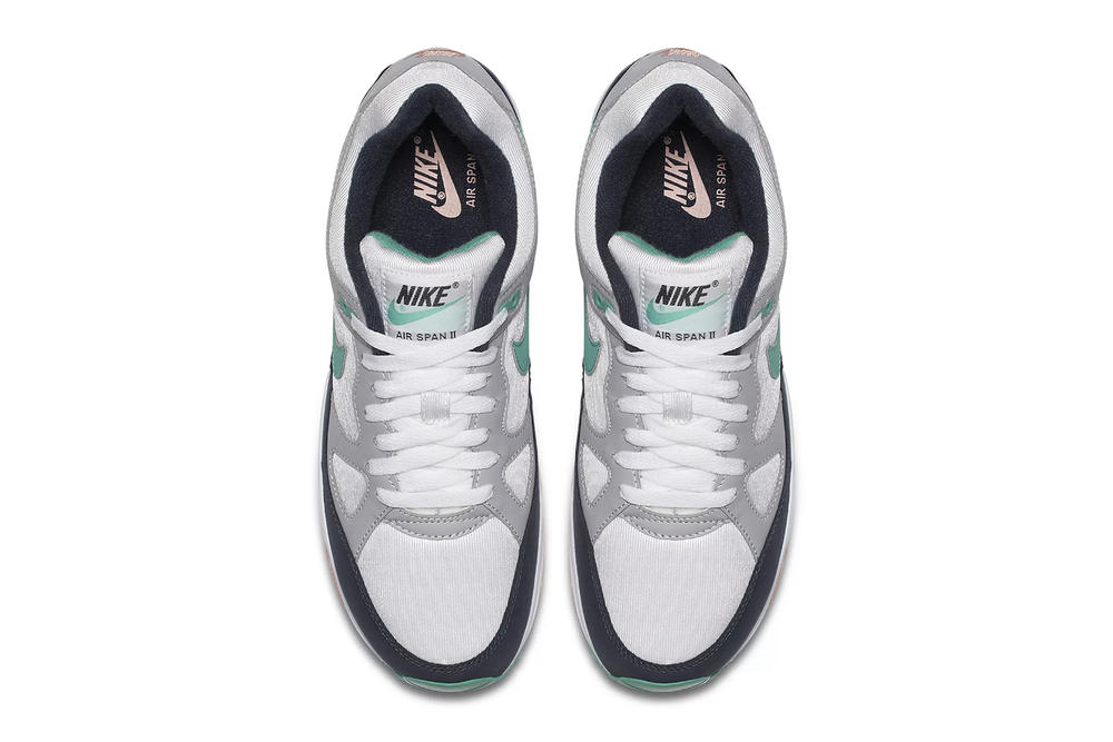 "Nike Air Span II ""Kinetic Green"" New Colorway Shoes Kicks Trainers Sneakers Purchase Available Cop Buy Now Release Details Information Green Pink Crimson Bliss White Wolf Grey Obsidian Navy"