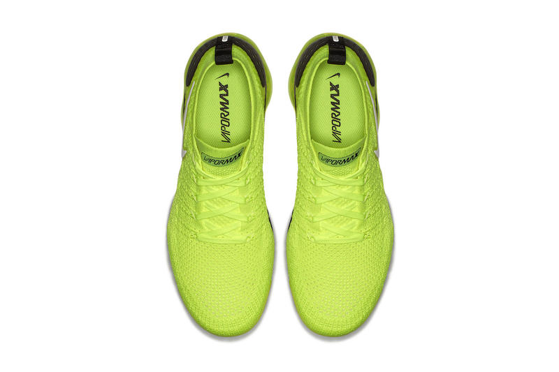 Nike Air VaporMax 2 Volt may 2018 release date info drop sneakers shoes footwear colorway
