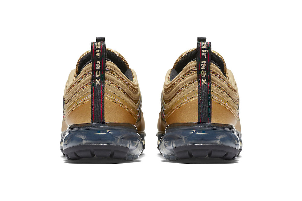 low priced 4d171 7ac89 Nike Air VaporMax 97 Metallic Gold Release Date   HYPEBEAST
