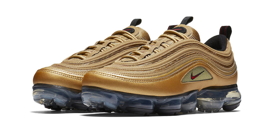 low priced ac615 1451e Nike Air VaporMax 97 Metallic Gold Release Date | HYPEBEAST