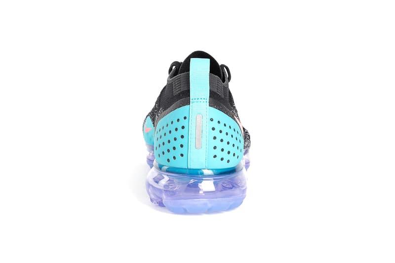 Nike Air VaporMax Flyknit 2.0 Black Pink Blue Purple release info sneakers footwear