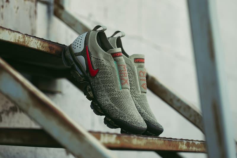 a1e739014f Nike Air VaporMax Flyknit MOC 2 Neutral Olive release info sneakers footwear