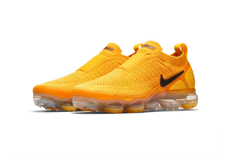 Nike Air VaporMax Moc 2 University Gold University Red Release Date Info Drops Runners May 11 2018 Sneakers