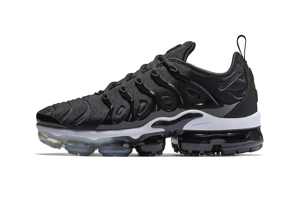 "b9b65e65fc Nike Unveils the VaporMax Plus In ""Black†