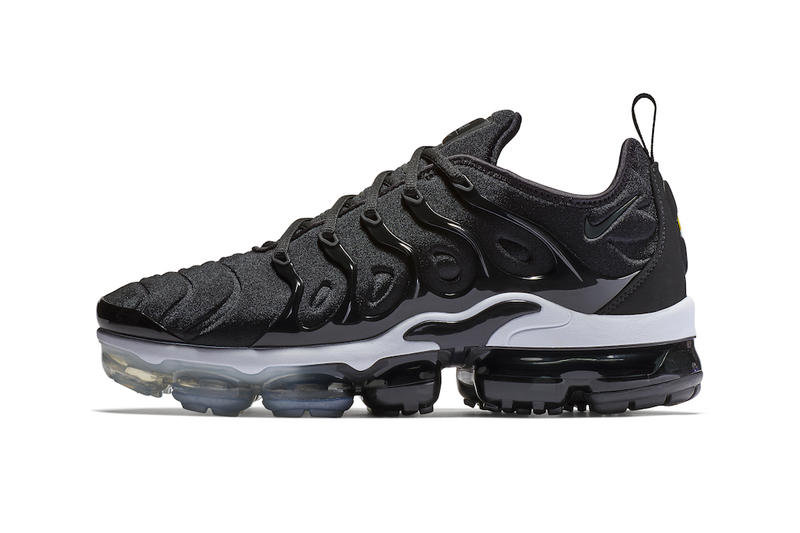 bc9951e49f8 Nike VaporMax Plus Black sneakers footwear pricing info running