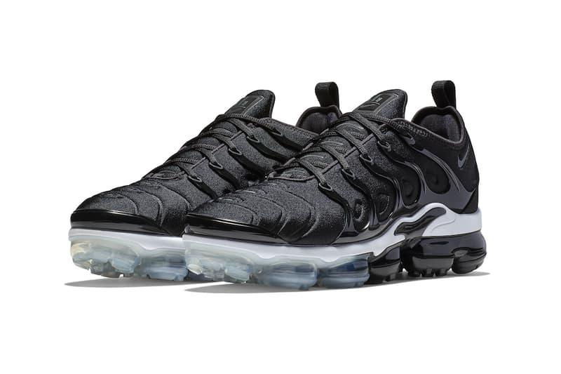 0475834fd37 Nike VaporMax Plus Black sneakers footwear pricing info running