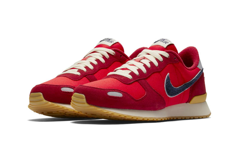 "Nike Air Vortex Chenille Swoosh ""University Red"" blackened blue special edition sneakers 2018"