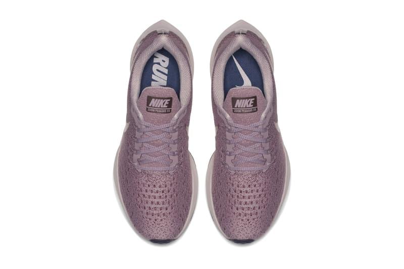 ed44614bbc7 Nike Air Zoom Pegasus 35 Zoom Air Cushlon foam midsole Vaporfly 4% Elemental  Rose May