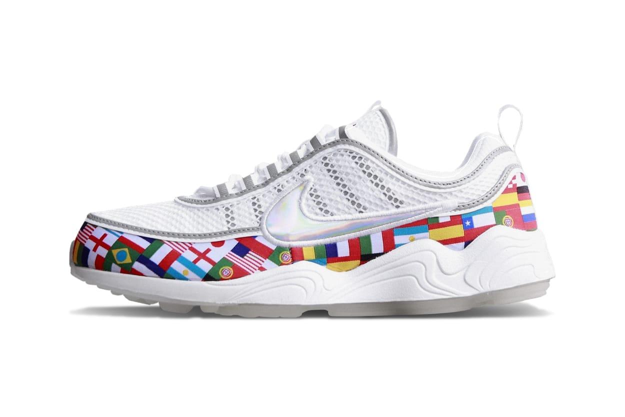 Nike Air Zoom Spiridon World Flags