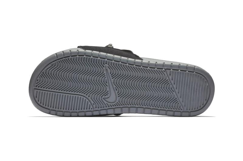 Nike benassi jdi fanny pack slides black