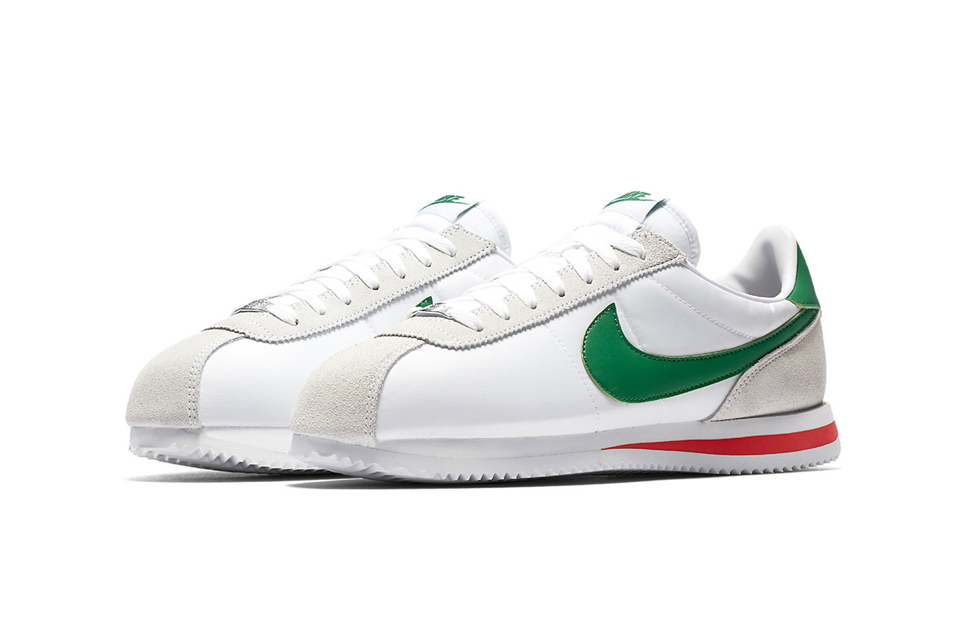 red and green nikes