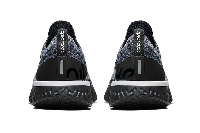 Nike Epic React Flyknit Cookies and Cream 2018 footwear nike running