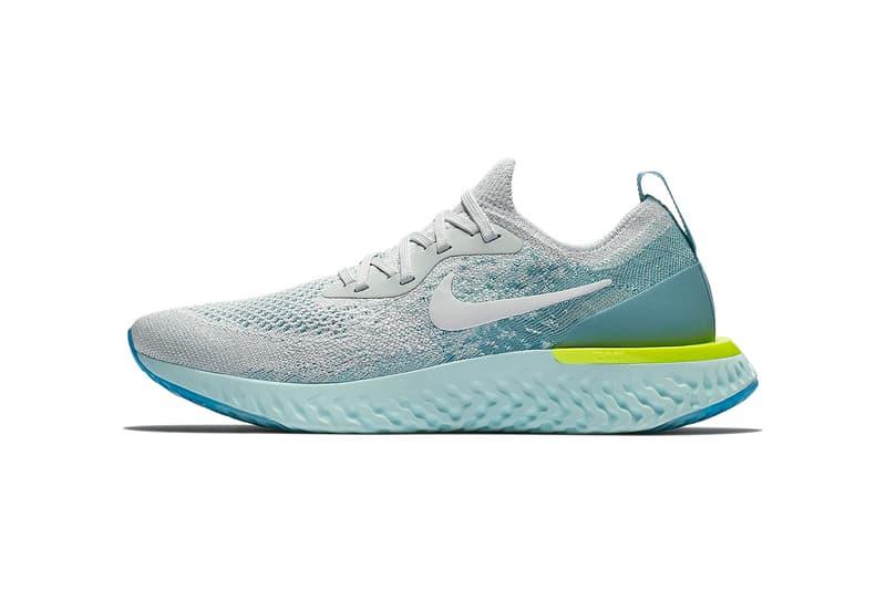 best website f8990 1f710 Nike Epic React Flyknit Volt Glow Pack may 2018 release date info drop  sneakers shoes footwear