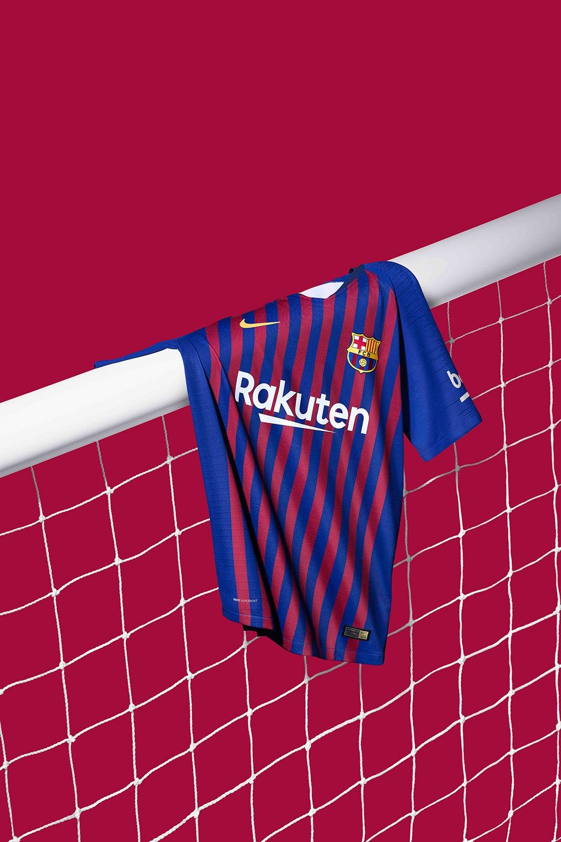 5add401c80d32 FC Barcelona 2018-19 Home Kit by Nike Football   HYPEBEAST