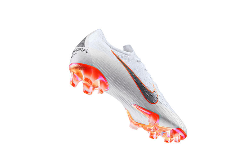 "Nike Football ""Just Do It"" White Mercurial Tiempo Hypervenom Magista Boots White Pearl Volt Total Orange Bright Crimson Blue Hero Red Green Release Information 2018 FIFA World Cup"
