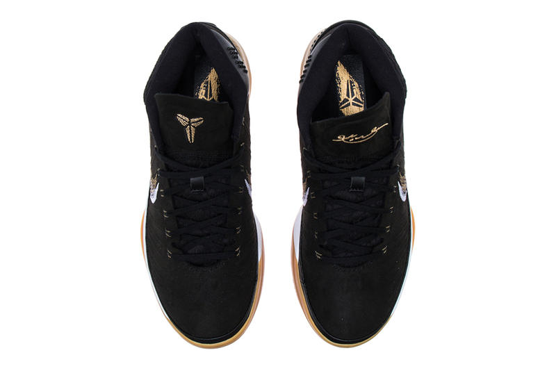 Nike Kobe A.D. Mid Black Gold Gum Release info kobe bryant sneakers footwear