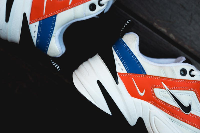 Cortar dinero deletrear  Nike M2K Tekno White/Blue/Red Closer Look | HYPEBEAST