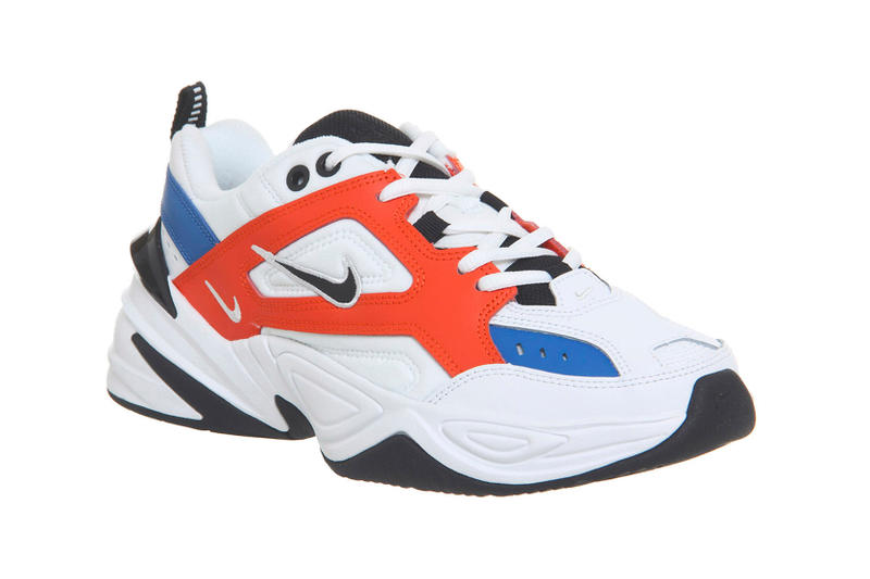 Nike M2k Tekno White/Blue/Red Release Details John Elliott 2018 Sneakers Kicks Trainers Shoes Available Now Cop Purchase Offspring