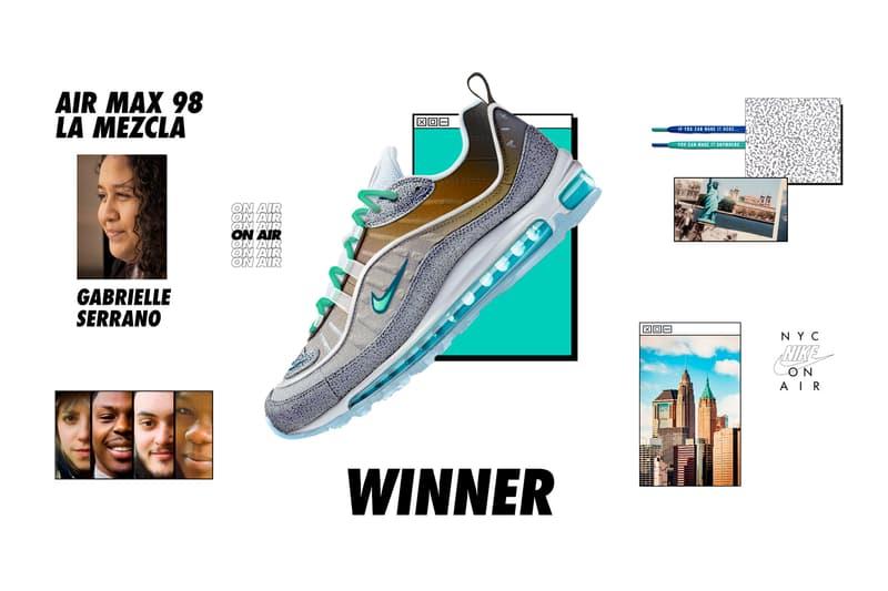 Nike On Air 2018 Winners Announced air max 1 97 98 vapormax plus la mezcla gabrielle serrano neon seoul gwang shin london summer of love jasmine lasode tokyo maze yuta takuman paris works in progress lou matheron sh kaleidoscope cash ru