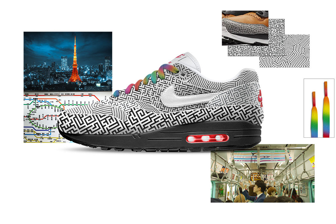 Nike ON AIR Design Contest Voting Open 2018 Air Max Day New York Paris Tokyo Shanghai Seoul London Air Max 1 Air Max 95 Air Max 97 Air Max 98 Air VaporMax Plus Air Max 270