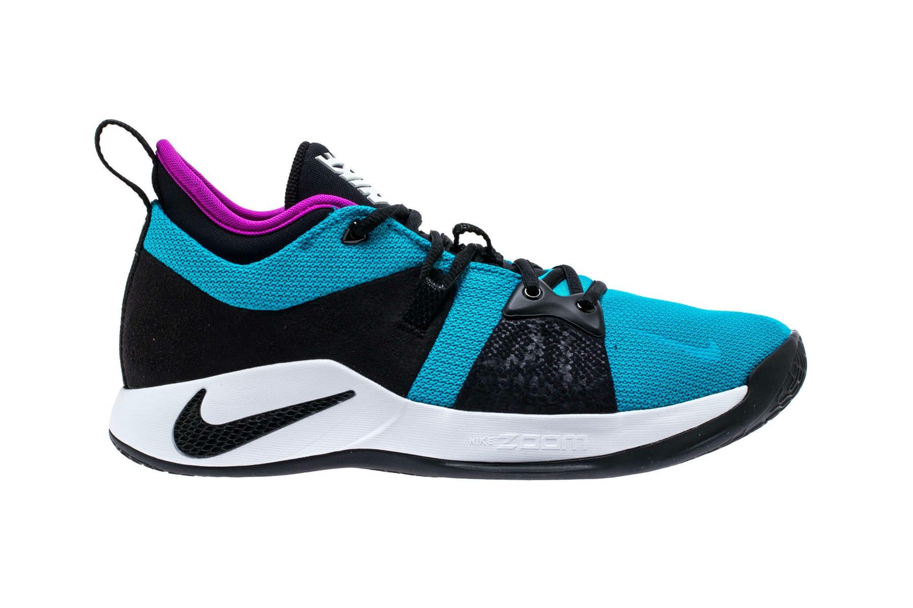 "Nike PG2 ""Blue Lagoon/Hyper Violet"