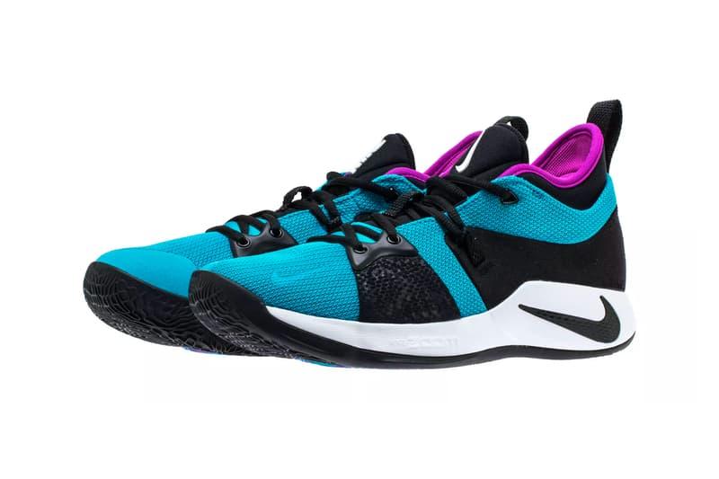 "hot sales 524fb d9cb8 Nike PG2 ""Blue Lagoon/Hyper Violet/White"" | HYPEBEAST"