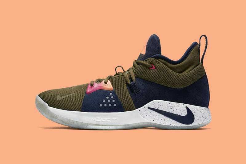 Nike PG2 ACG paul george olive canvas obsidian light silver june 1 2018 release date info drop sneakers shoes footwear