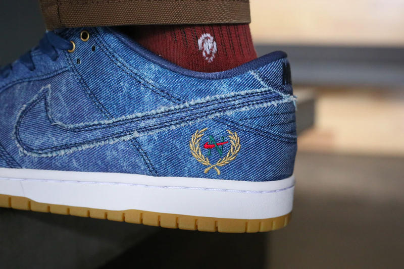 Nike SB Air Force 2 Dunk Low Rivals Denim Pack Release Date Biggie Tupac