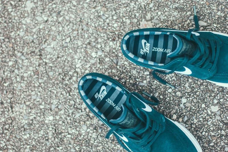 Nike SB Stefan Janoski Deep Jungle Clay Green footwear 2018 may